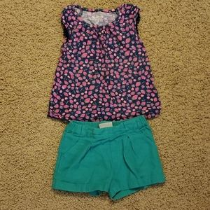 Toddler girl summer outfit